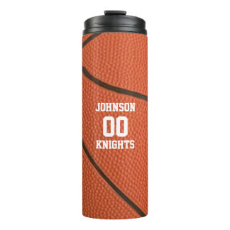 Basketball Personalized Thermal Tumbler