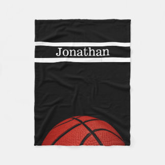 Basketball  Personalized with name blanket