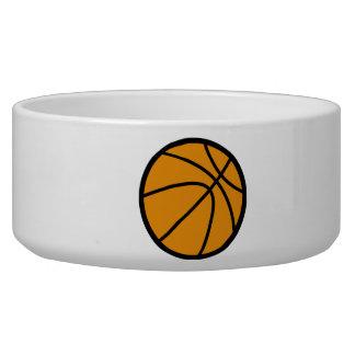 Basketball Dog Bowl