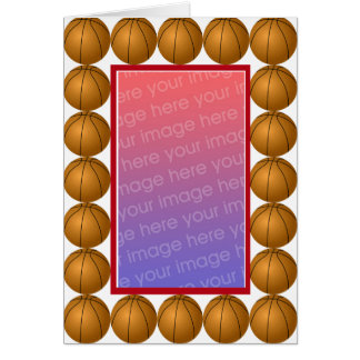 Basketball photo Card
