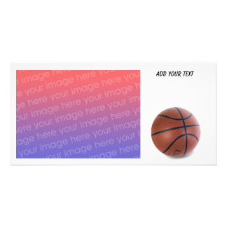 Basketball Photo Card by SRF