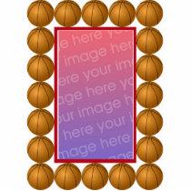 Basketball Photoframe Statuette