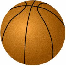 Basketball Photosculpture Statuette