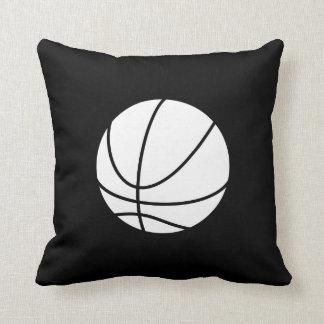 Basketball Pictogram Throw Pillow