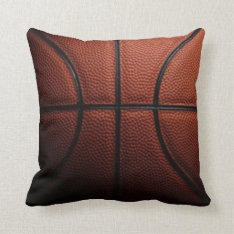 Basketball Pillow at Zazzle
