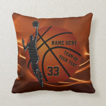 Basketball Pillow Great Basketball Senior Gifts