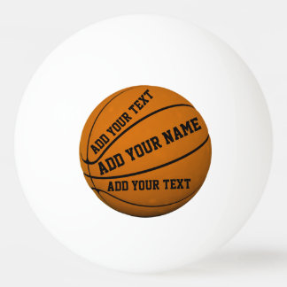 Basketball Ping-Pong Ball