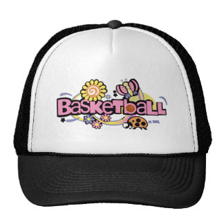 Basketball Pink - T-Shirt funny fun humor Trucker Hat