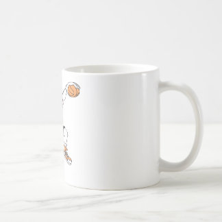 Basketball-Pirate Classic White Coffee Mug