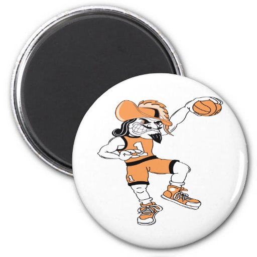Basketball-Pirate Magnets