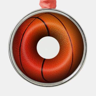Basketball Plain Donut Ornaments
