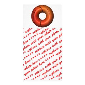 Basketball Plain Donut Photo Card Template