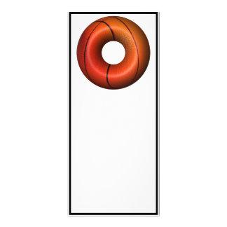 Basketball Plain Donut Rack Cards