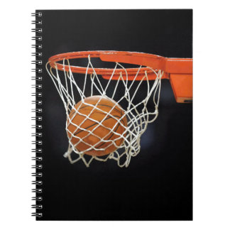 Basketball Plain Modern Chic Notebook