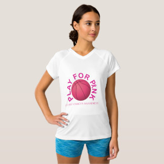 Basketball Play for Breast Cancer Awareness Shirt