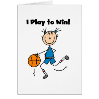 Basketball Play to Win T-shirts and Gifts Card