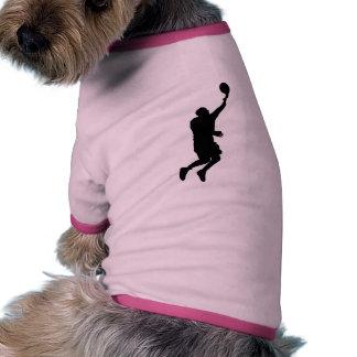 Basketball Player_2 Dog T Shirt