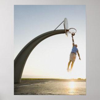 Basketball player 3 poster