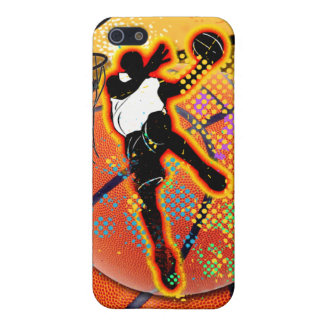 Basketball Player Abstract Cover For iPhone SE/5/5s