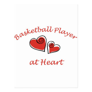 Basketball Player at Heart Postcard
