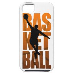 Basketball Player Basketballer Jumping iPhone SE/5/5s Case