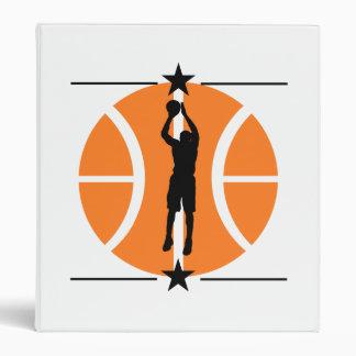 Basketball Player 3 Ring Binders