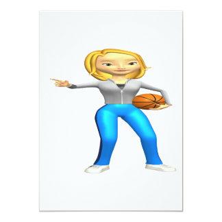 Basketball Player Card
