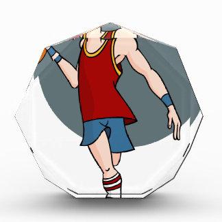 Basketball Player Cartoon Character Award