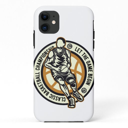 Basketball Player iPhone 11 Case