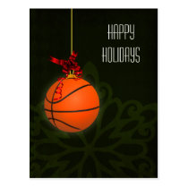 basketball player Christmas Cards
