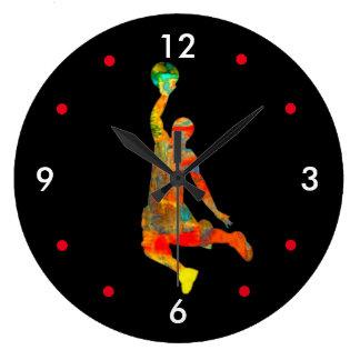 Basketball Player Clock