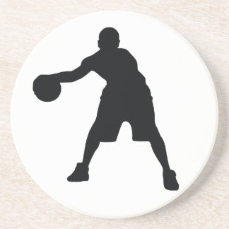 Basketball Player Beverage Coasters