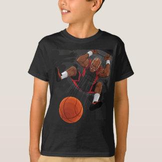 Basketball Player Doing Slam Dunk.pdf T-Shirt