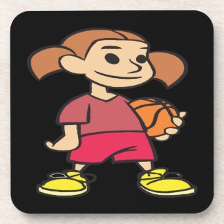 Basketball Player Drink Coaster