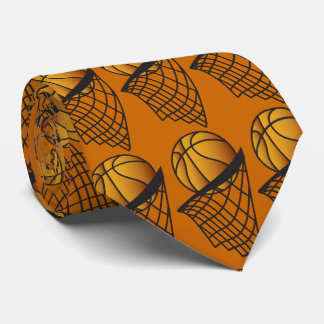 Basketball Player Dunk It Neck Tie