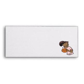 Basketball Player Envelope
