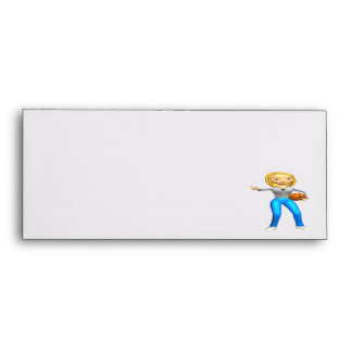 Basketball Player Envelopes