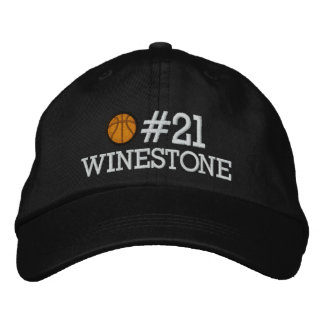Basketball - Player - Family - SRF Embroidered Baseball Cap