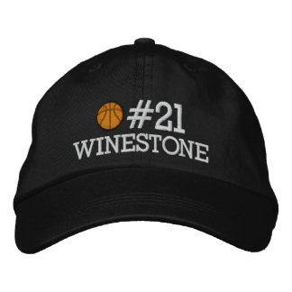 Basketball - Player - Family - SRF Embroidered Baseball Hat