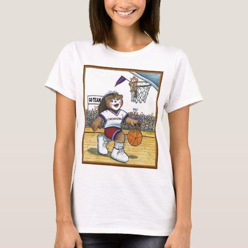 Basketball Player, Female - Shirt