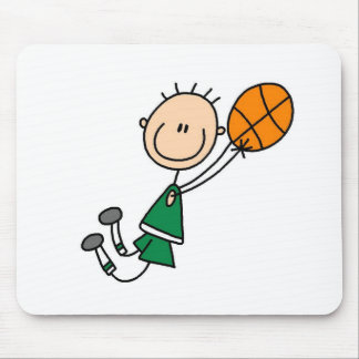 Basketball Player Getting Airborne Mousepad
