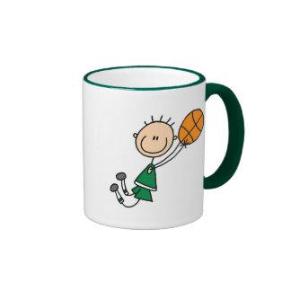 Basketball Player Getting Airborne Mug