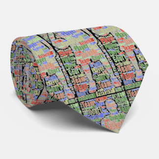 Basketball Player Graphic Sports Necktie