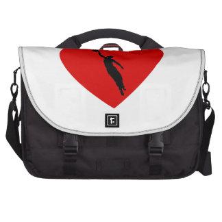 Basketball Player Heart Bag For Laptop