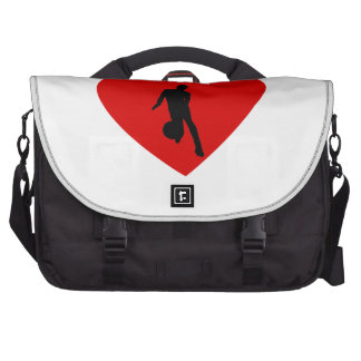 Basketball Player Heart Bags For Laptop