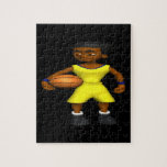 Basketball Player Jigsaw Puzzle