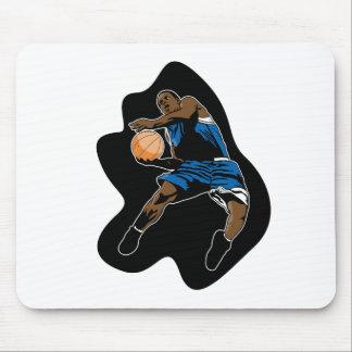 basketball player jump dunk dunker mousepads