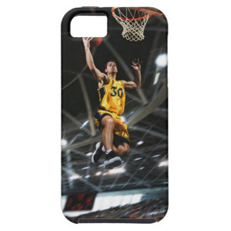Basketball player  jumping in air iPhone SE/5/5s case