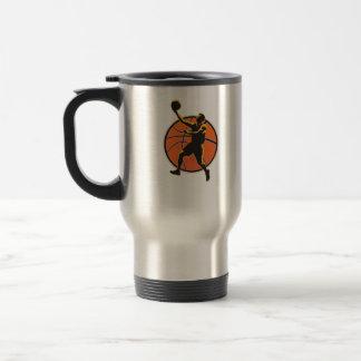 Basketball Player Lay Up Ball Coffee Mug