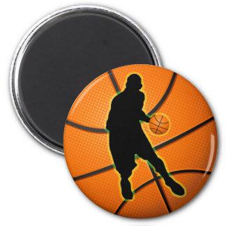 BASKETBALL PLAYER FRIDGE MAGNET